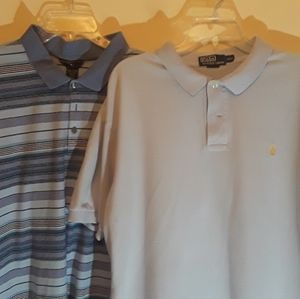 Like new Calvin Klein and Polo shirts. 2XL